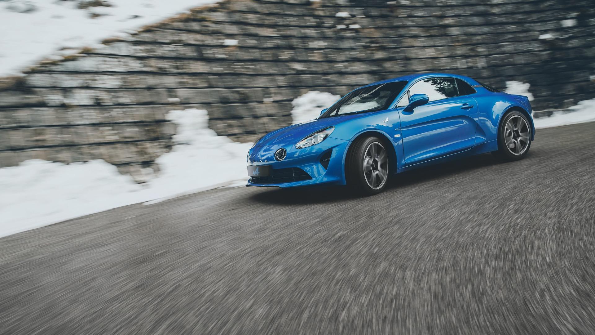 Alpine завершил выпуск нового A110 1