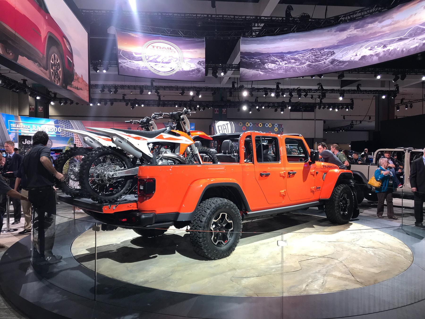 Jeep представил самый проходимый пикап 2