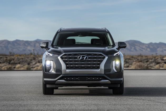 Hyundai показал новый флагманский кроссовер Palisade 1