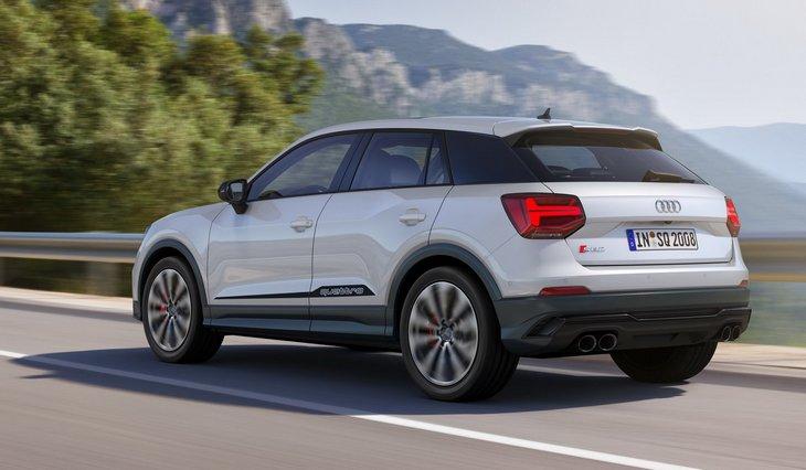 Audi начала европейские продажи 300-сильного кроссовера SQ2 1