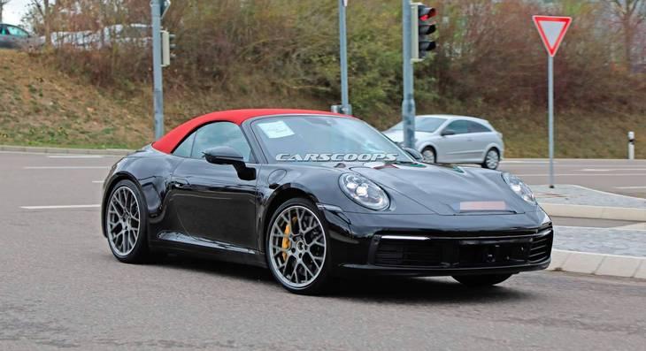 Porsche готовит новый 911 в кузове кабриолет 2