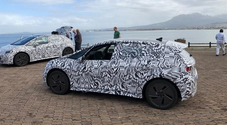 Первый электрический Volkswagen семейства I.D. засекли на тестах 1