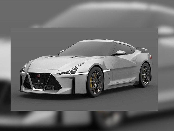 Опубликованы первые изображения нового Nissan GT-R 1