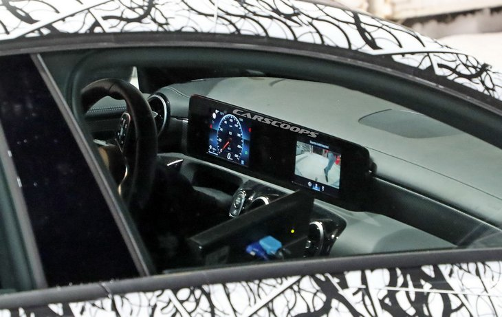 Новый Mercedes-Benz CLA в кузове универсал попался фотошпионам 2