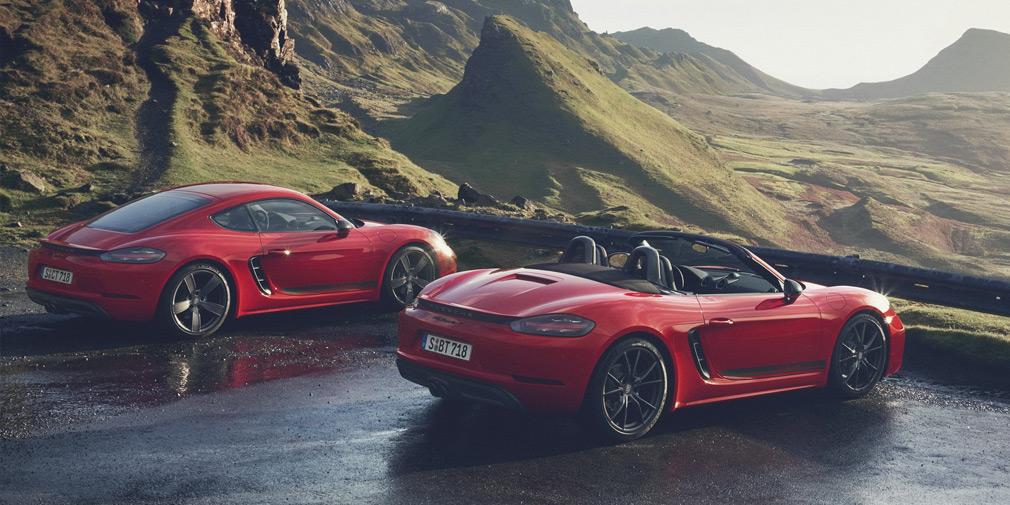Porsche выпустила экстремальные версии базовых 718 Boxster и Cayman 1