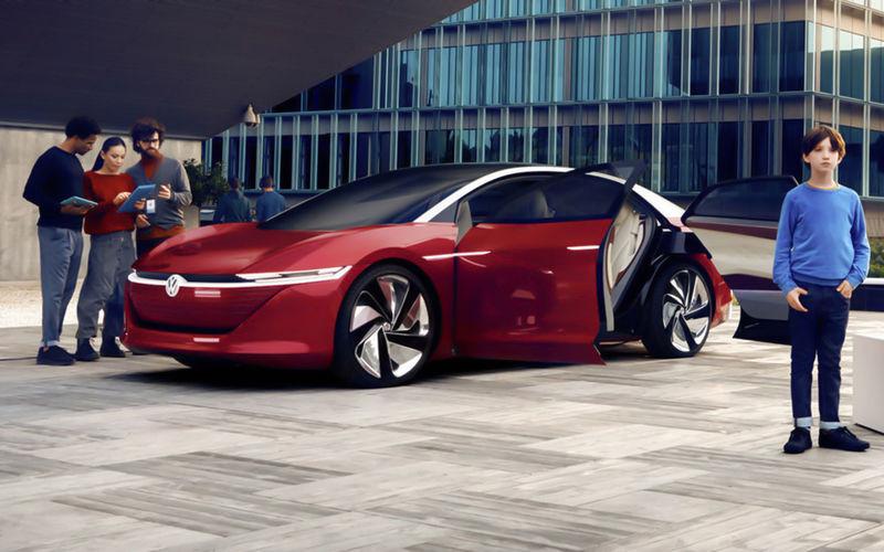 Volkswagen специально для беспилотников создал новую марку IQ Drive 1