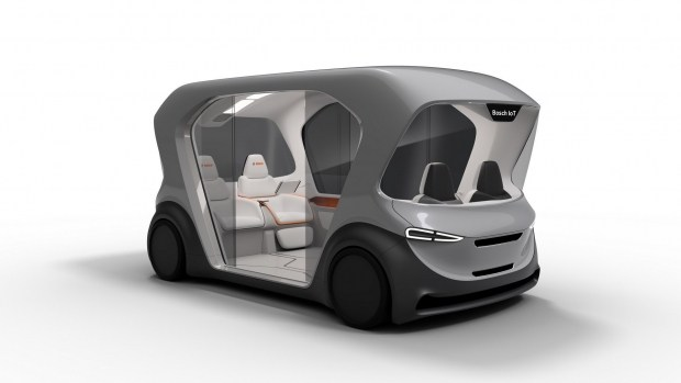 Bosch представит концепт беспилотного шаттла 1