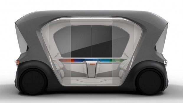 Bosch представит концепт беспилотного шаттла 2