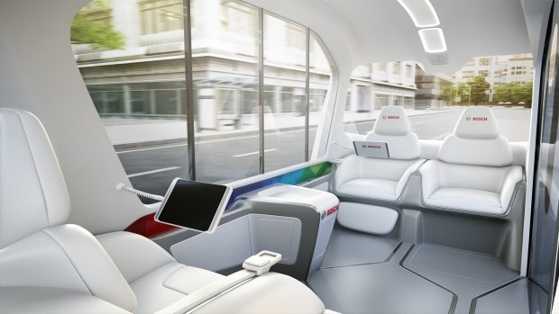 Bosch представит концепт беспилотного шаттла 3