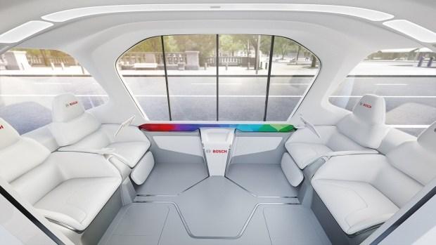 Bosch представит концепт беспилотного шаттла 4