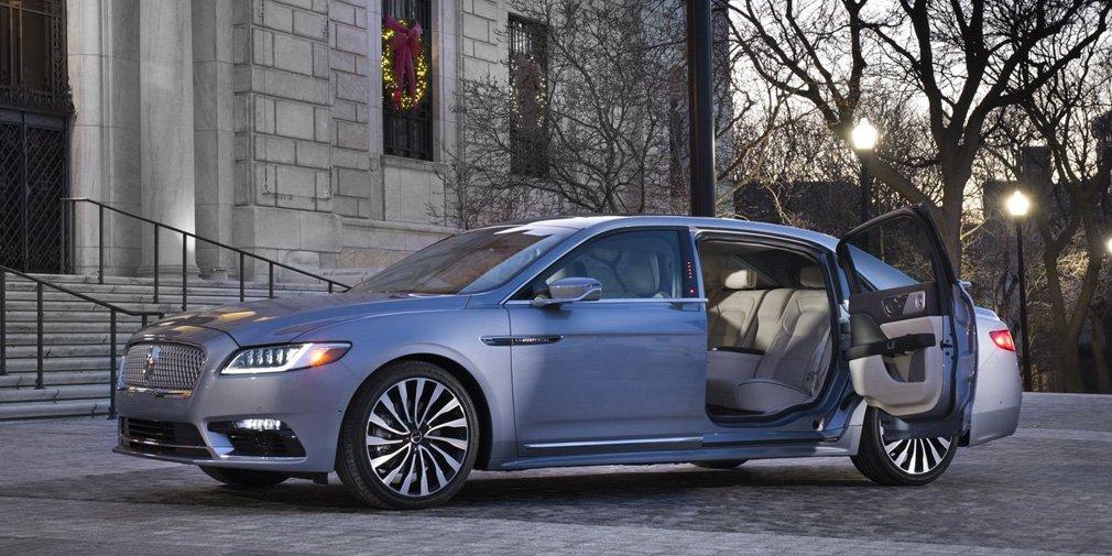Lincoln выпустил Continental с заднепетельными дверьми 1