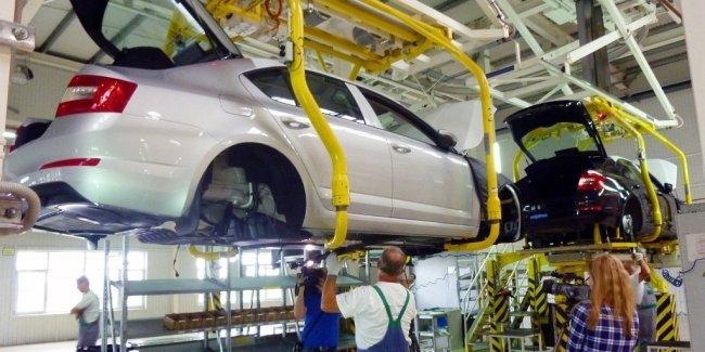 Автопроизводство в Украине продолжает падать 1