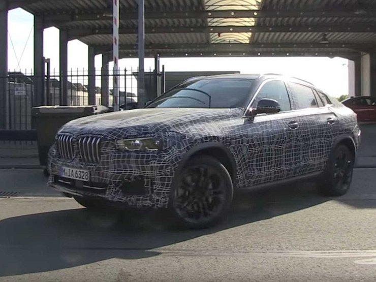 Названы сроки появления обновленного BMW X6 1