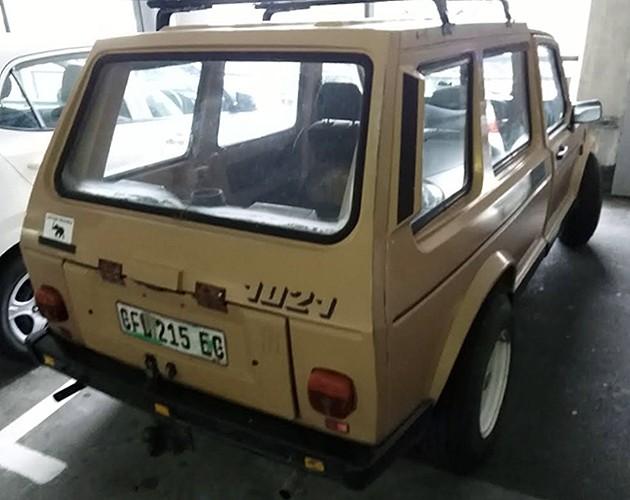 Редкий прототип VW используется кем-то в качестве личного авто 1