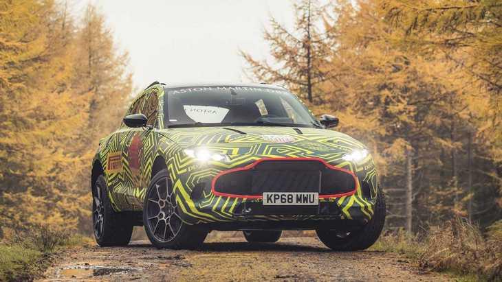 Aston Martin работает над собственным мотором R6 1