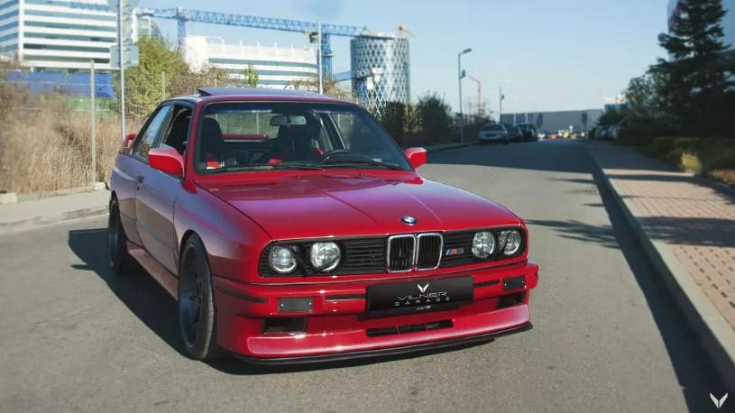 Болгарское ателье построило BMW M3 с салоном в стиле Golf GTI 1