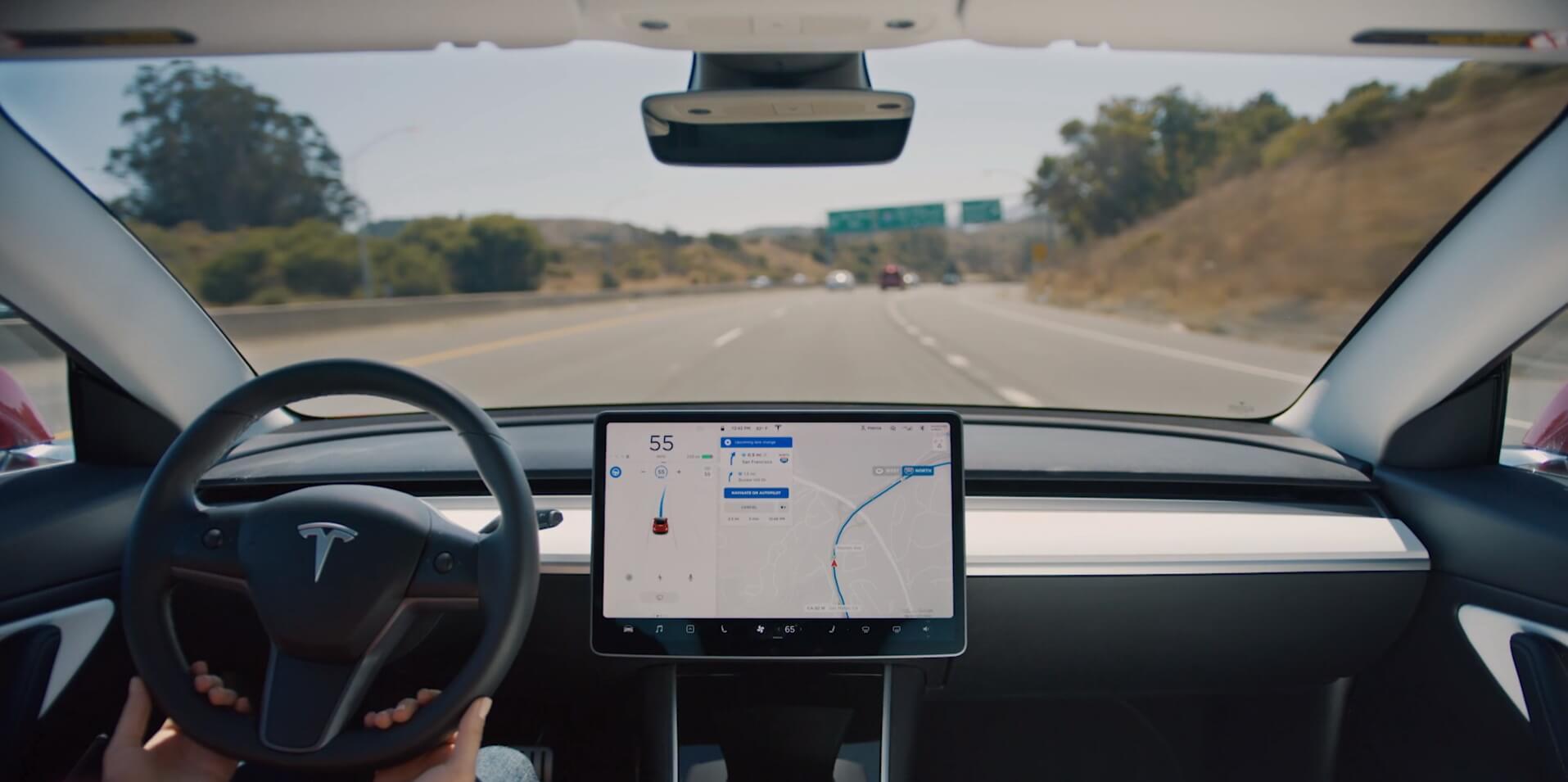 Илон Маск рассказал о новых возможностях автопилота Tesla 1