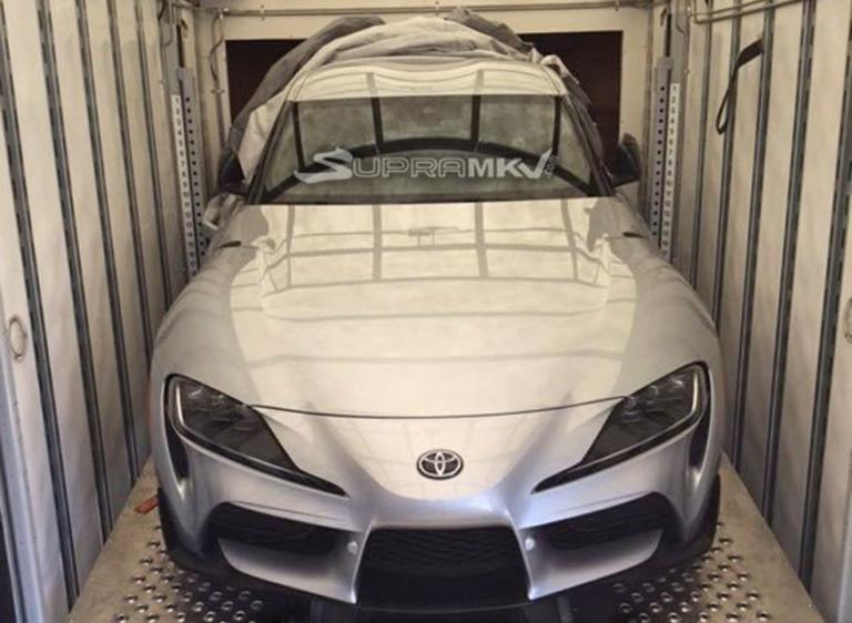 Toyota приоткрыла серийную Supra 2