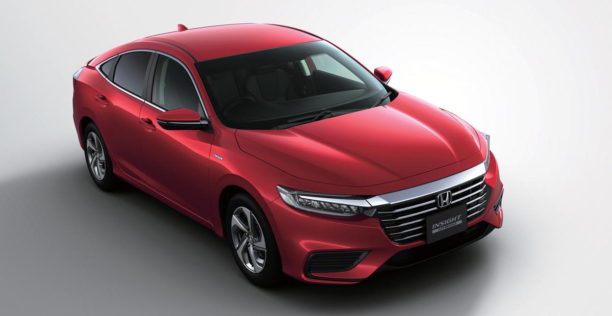 Седан Honda Insight для Японии дистанцировался от американского 4
