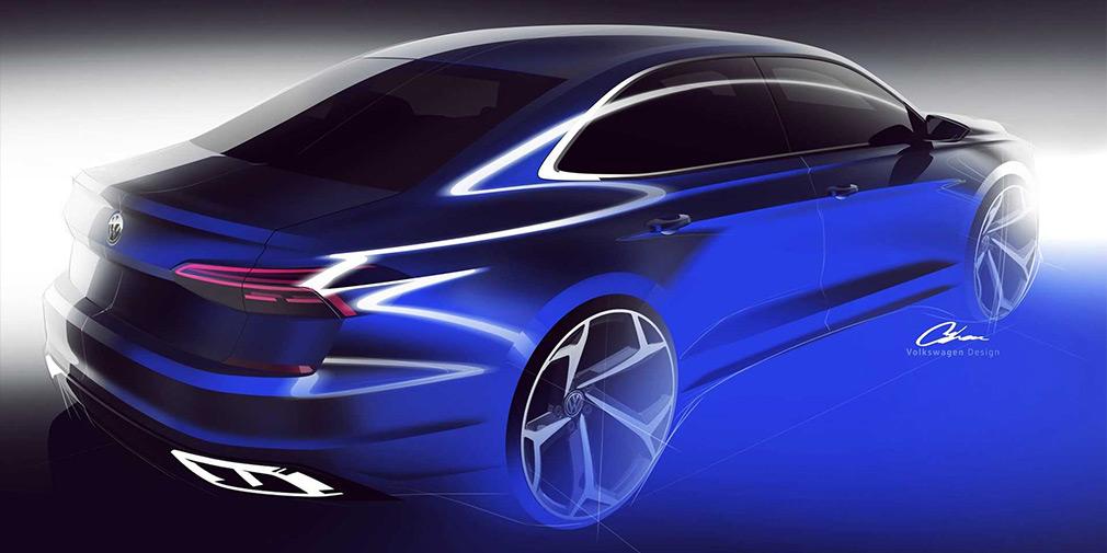Volkswagen показал первые изображения нового Passat 2