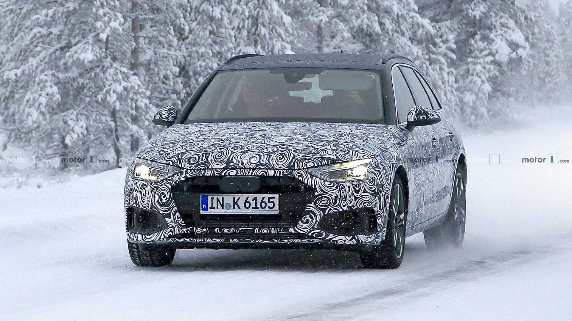 Audi готовит обновление универсала A4 Avant 1