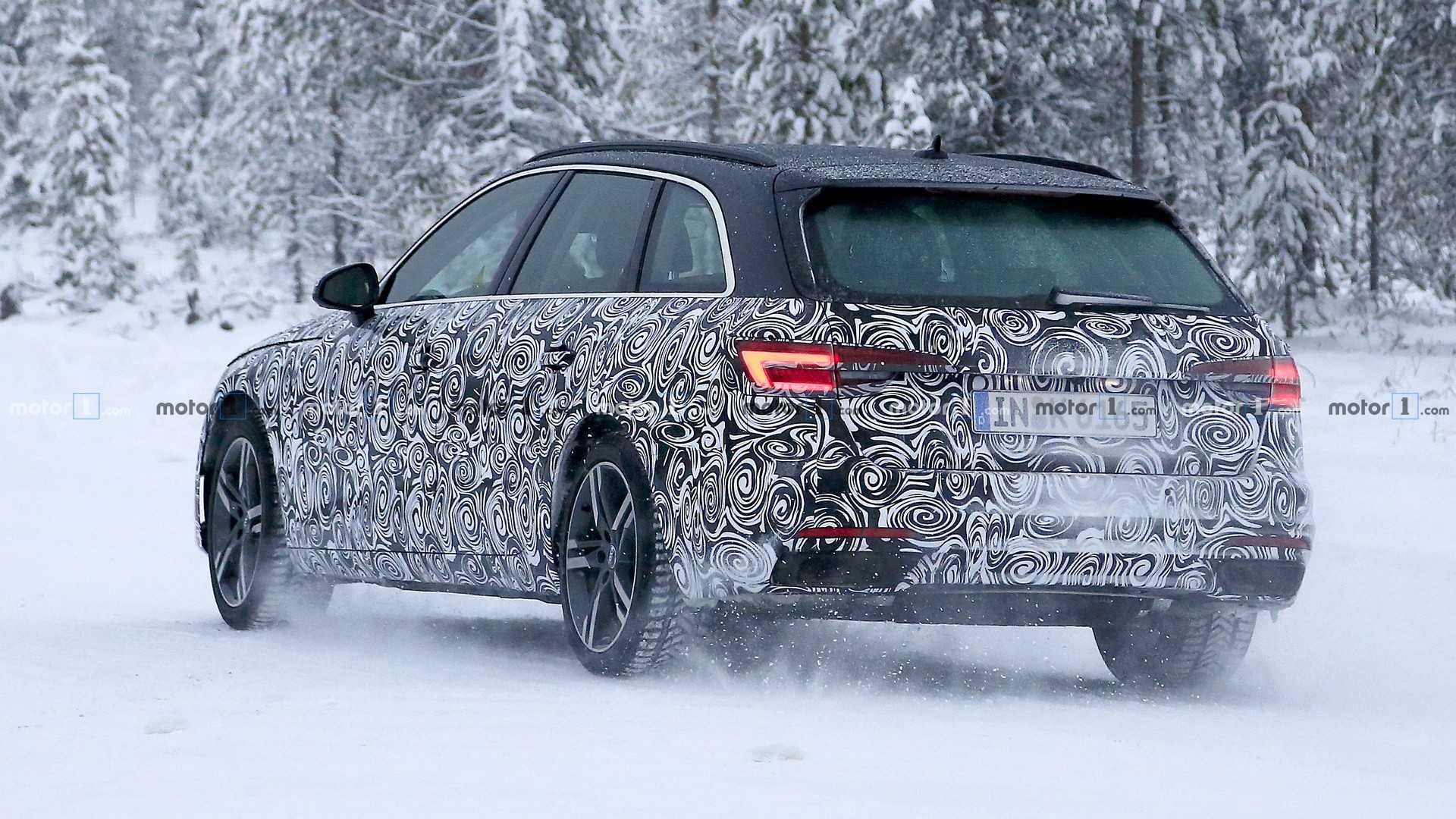 Audi готовит обновление универсала A4 Avant 2