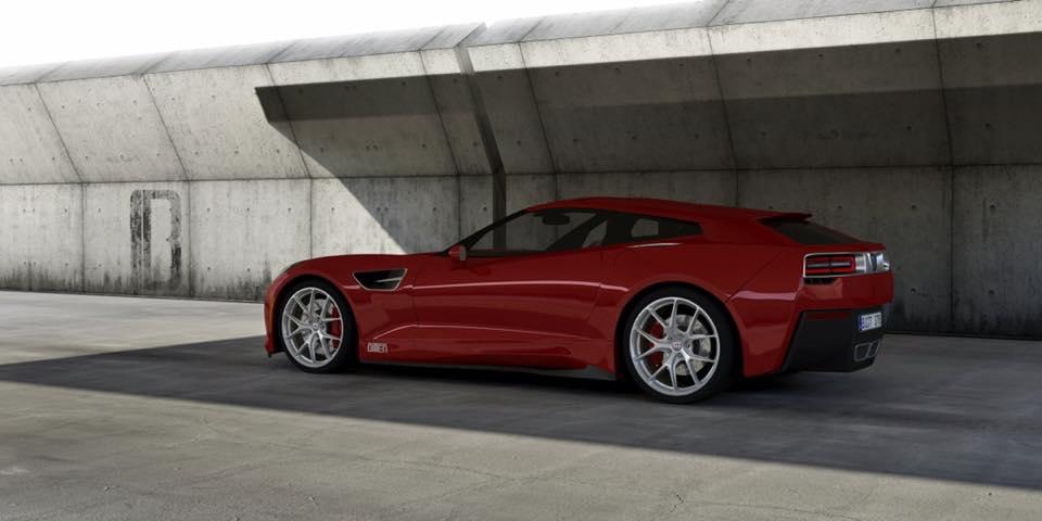 Немцы превратят Corvette в стильный универсал 1