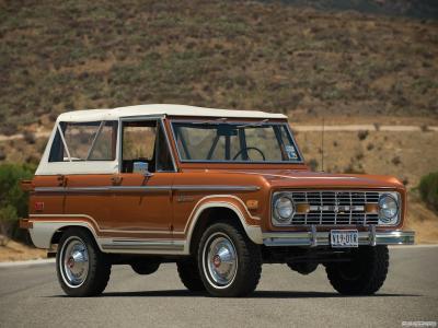 Ford Bronco первого поколения возродится 1