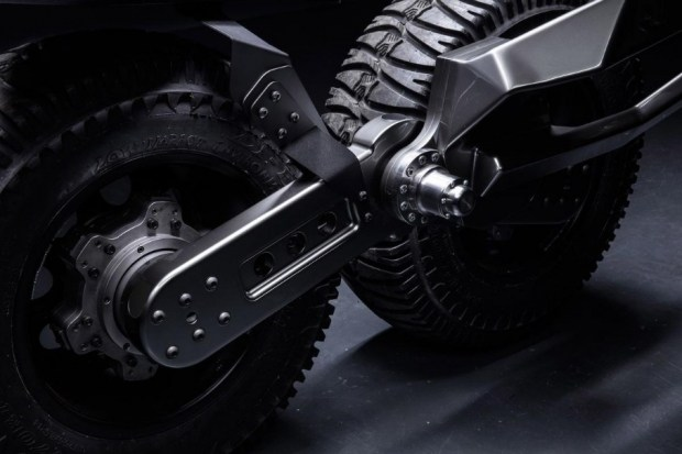 Австралийцы построили внедорожник с жидкостным приводом колес 4