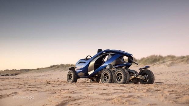 Австралийцы построили внедорожник с жидкостным приводом колес 3