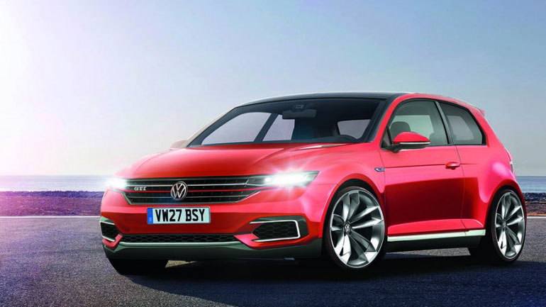 Опубликовано первое изображение нового Volkswagen Golf 1