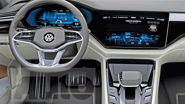 Опубликовано первое изображение нового Volkswagen Golf 2
