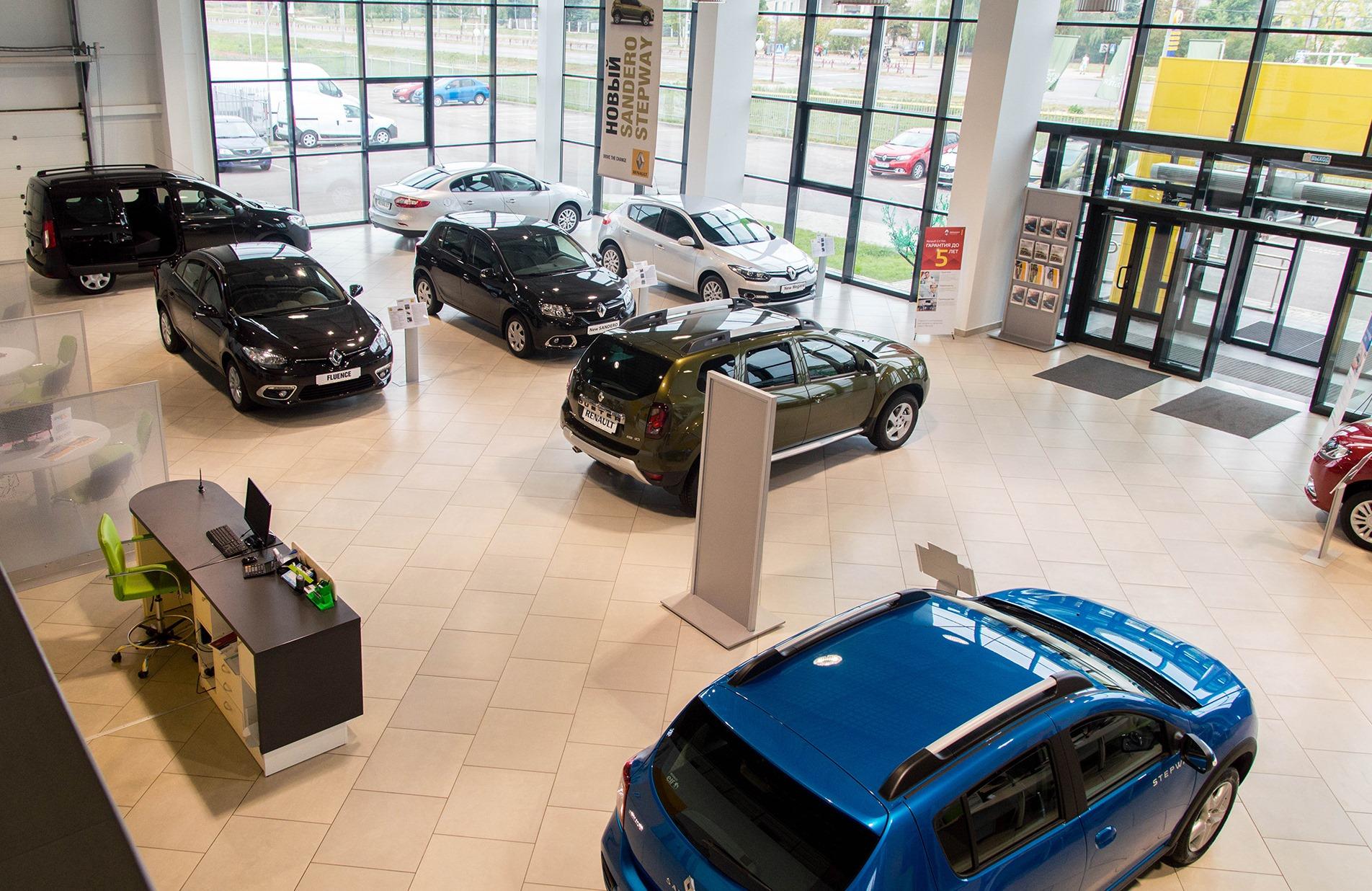 В ноябре спрос на новые легковые автомобили снизился на 4% 1