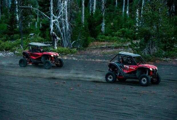 Honda представила спортивные внедорожники Talon 1000X и 1000R 1