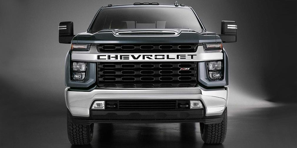 Chevrolet рассекретил новый пикап Silverado HD 1