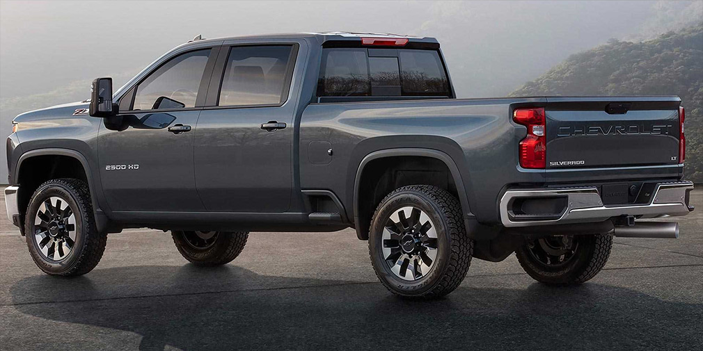 Chevrolet рассекретил новый пикап Silverado HD 2