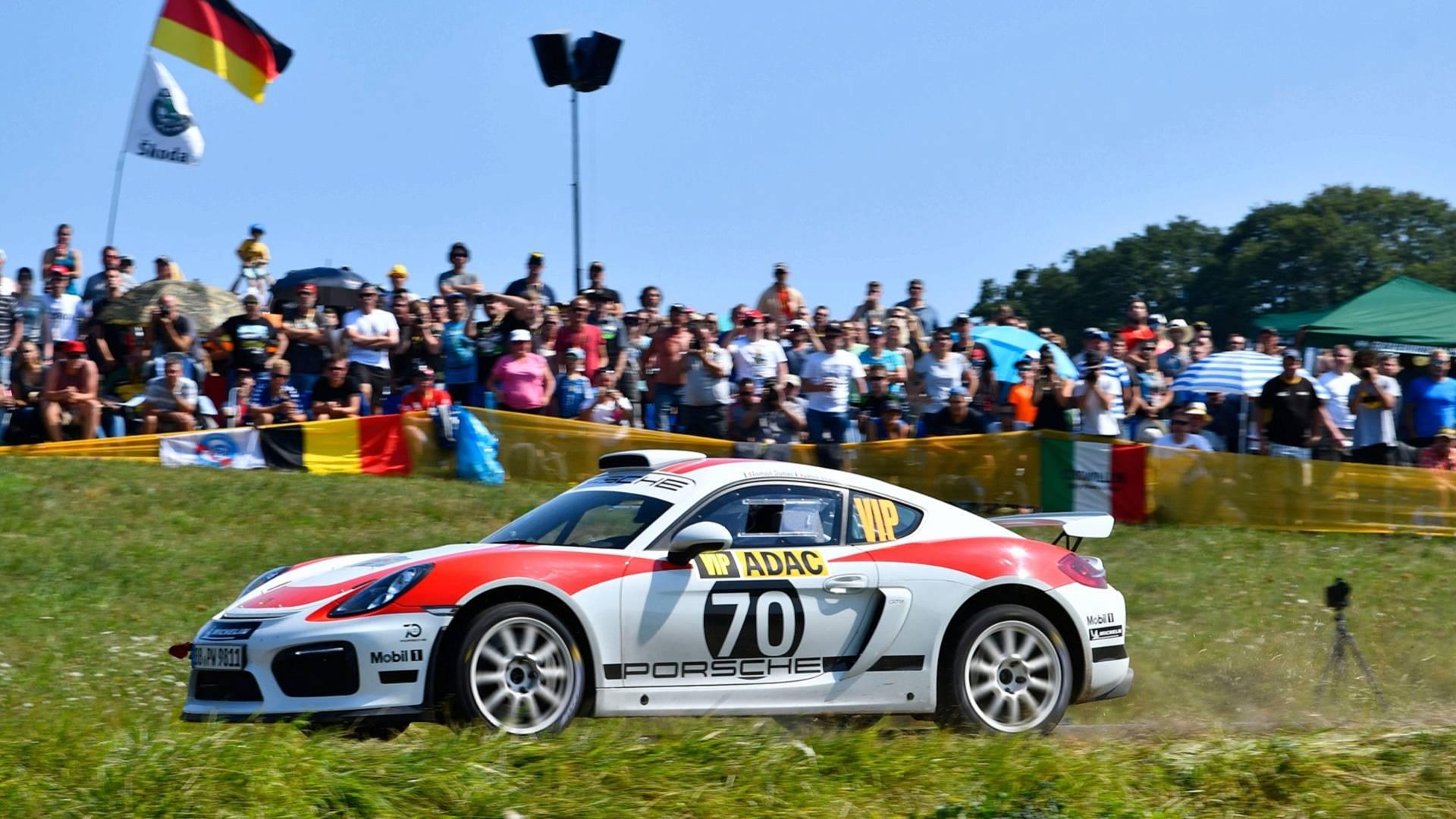 Porsche нужна сотня клиентов для выпуска раллийного Cayman 2