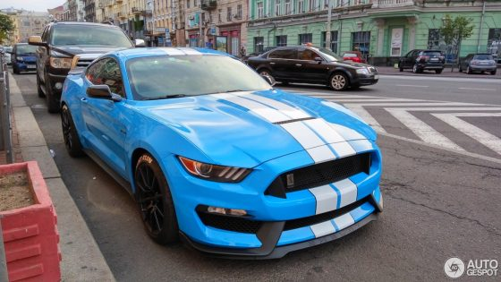 В Украине появился самый агрессивный Ford Mustang 1