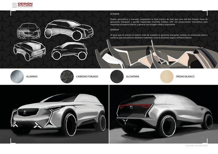 SEAT показал футуристический концепт кроссовера Vitoria 2