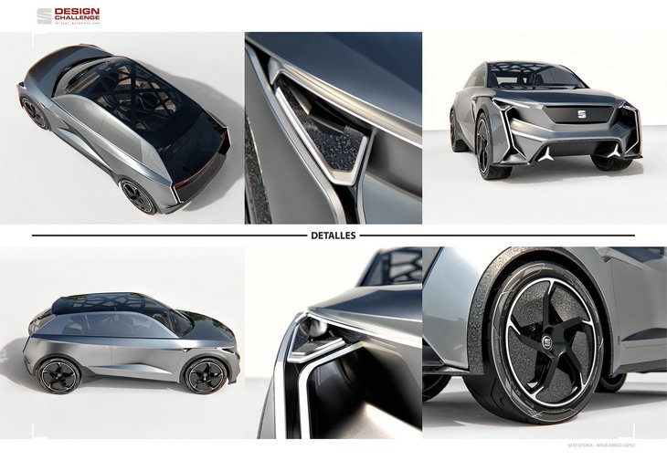 SEAT показал футуристический концепт кроссовера Vitoria 3