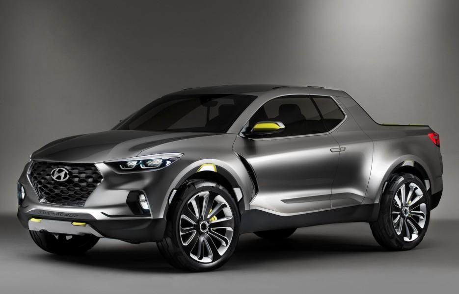 Hyundai утвердила дизайн своего пикапа 1