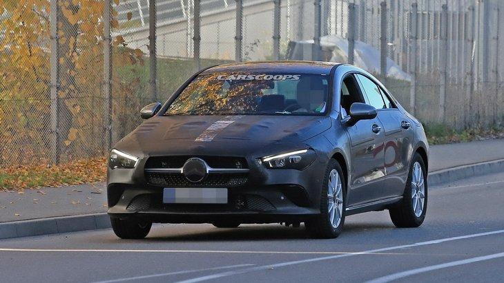 Mercedes-Benz готовит к выпуску новый CLA 1