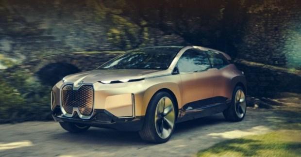 BMW представила концепт кроссовера Vision iNeXT 1