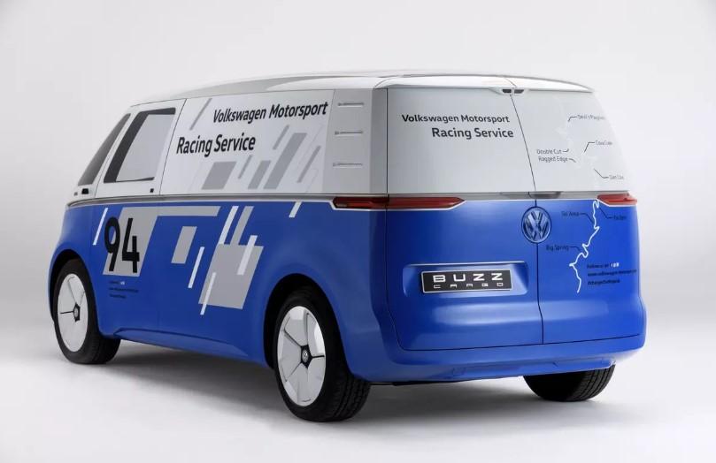 Электрический фургон Volkswagen стал техничкой для «Пайкс Пика» 1