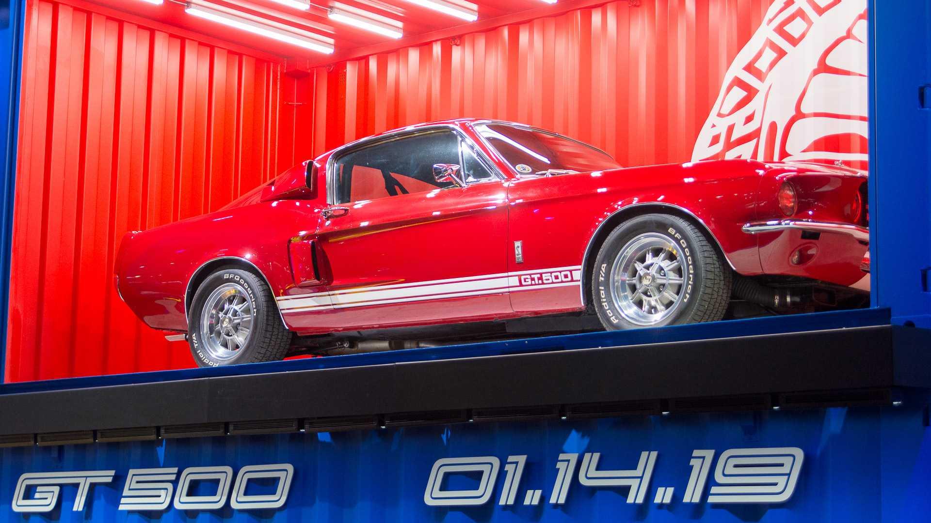 Ford назвал дату дебюта Mustang Shelby GT500 1
