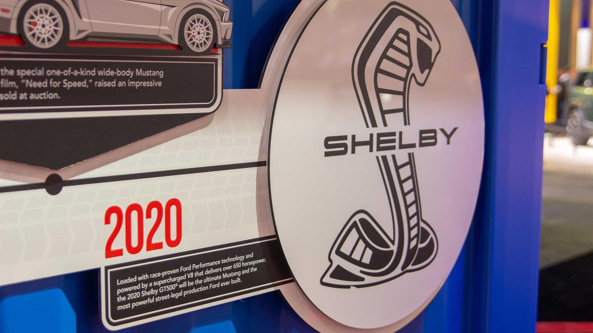 Ford назвал дату дебюта Mustang Shelby GT500 2