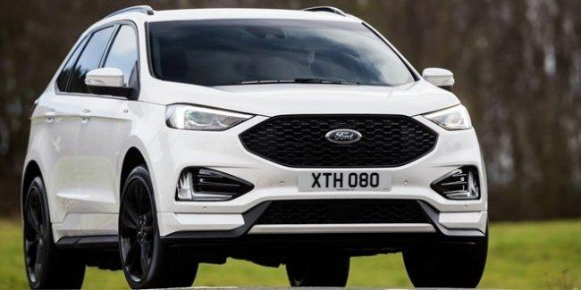 Ford начал европейские продажи обновленного внедорожника Edge 1