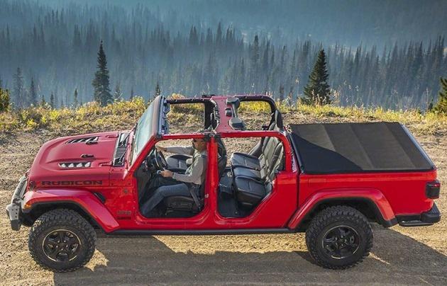Jeep выпустит суровый рамный пикап 1