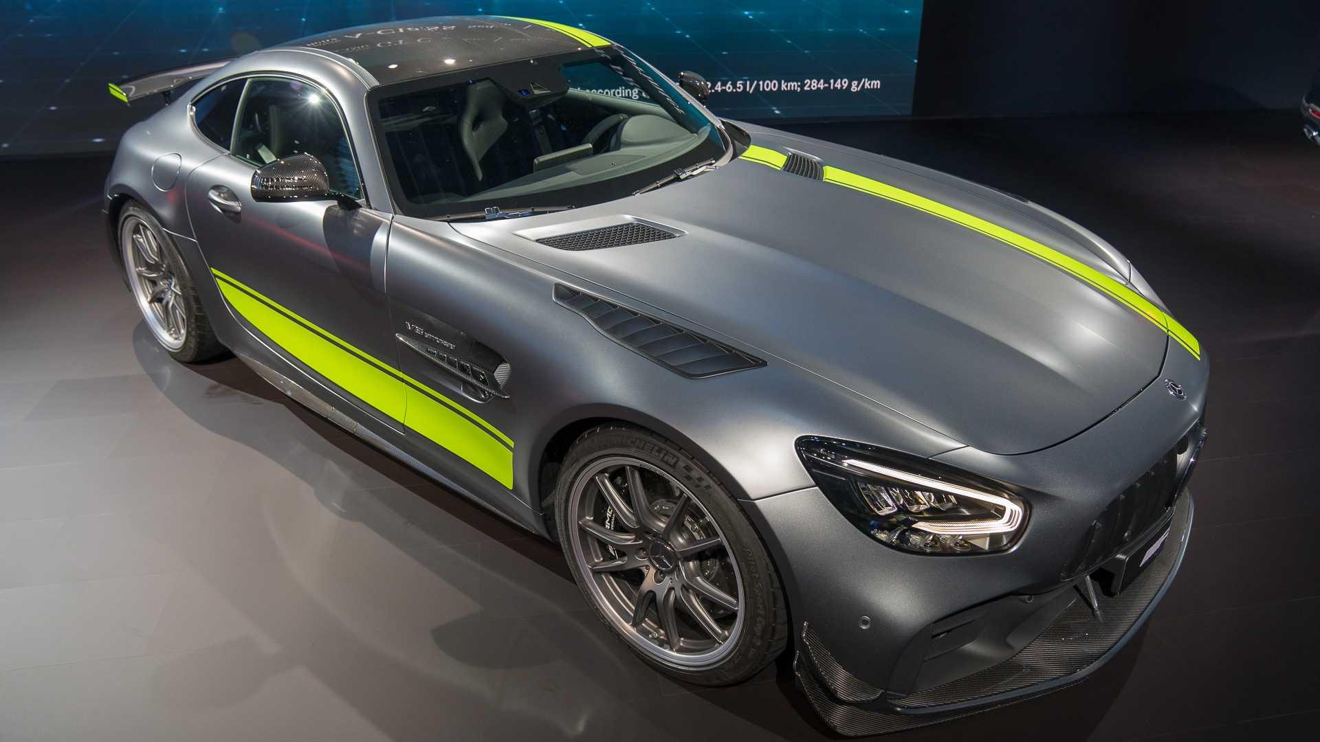 Mercedes-AMG начал тесты GT Black Series 1
