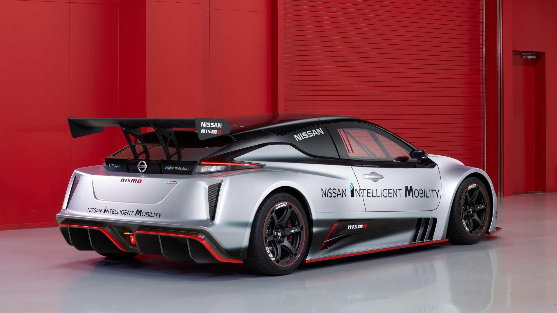 Nissan превратил электромобиль Leaf в гоночную машину 2